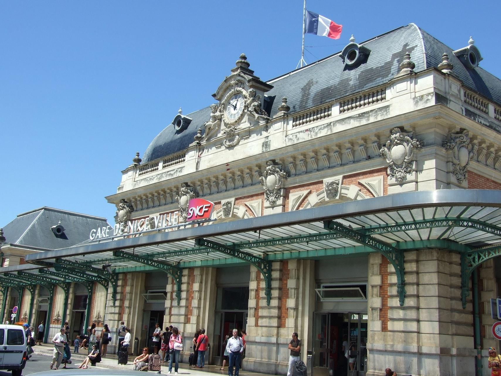 gare sncf nice ville chauffeur vtc Alpes-Maritimes Côte-d'Azur