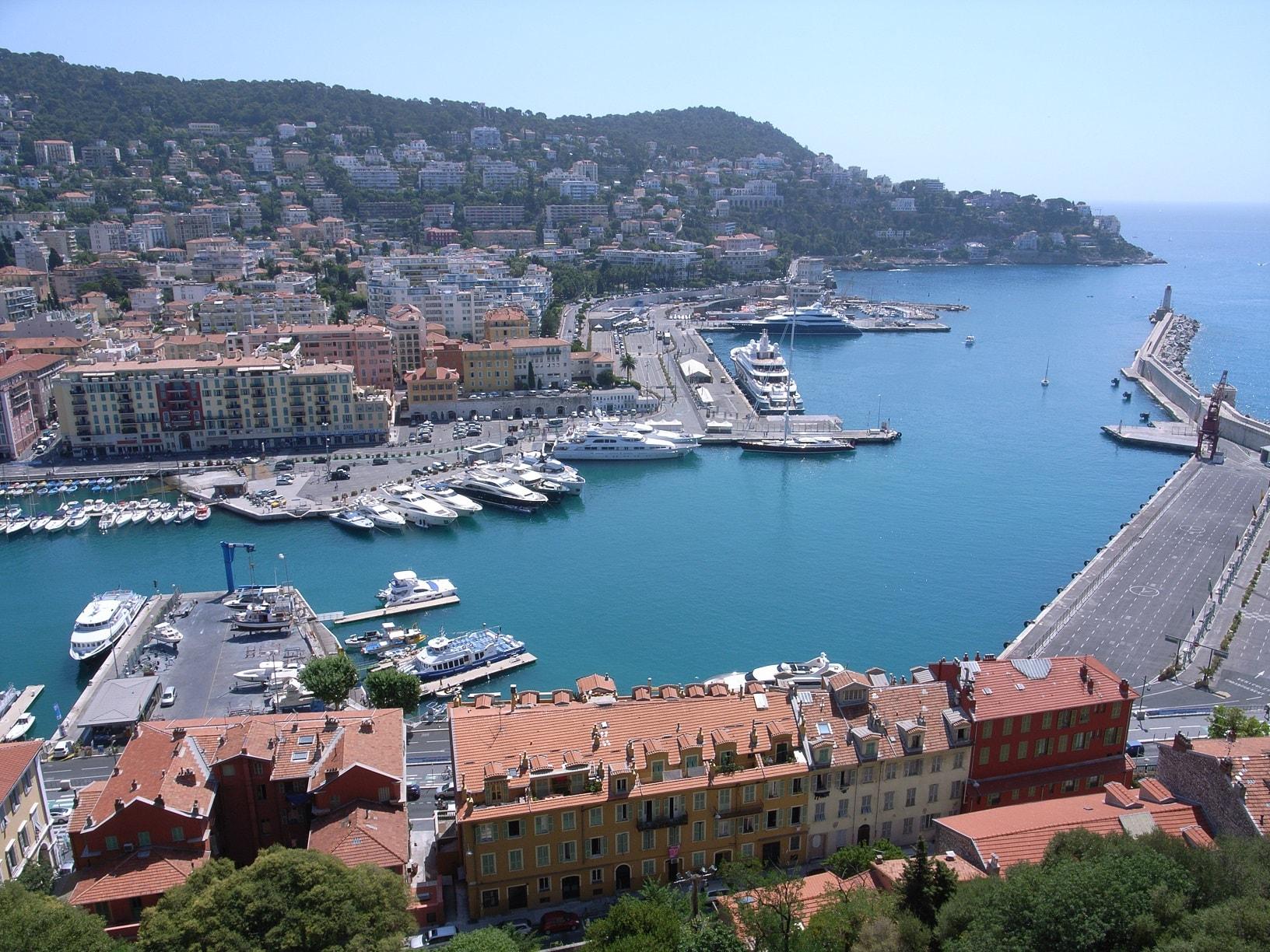 port nice avec chauffeur vtc Alpes-Maritimes Côte-d'Azur