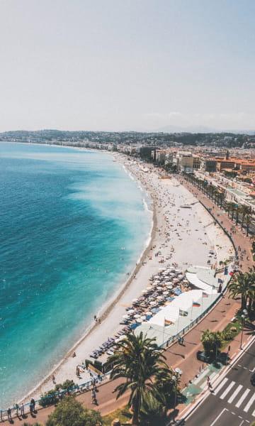 Transport Nice - promenade des Anglais avec Chauffeur Privé VTC