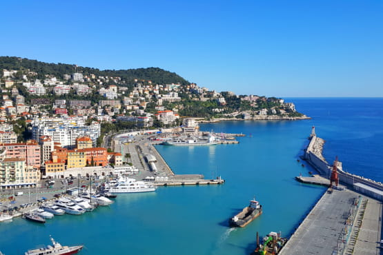 VTC port Nice Lympia pour transfert